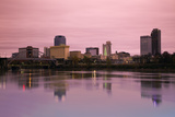 Sunrise in Little Rock, Arkansas Reproduction photographique par  benkrut