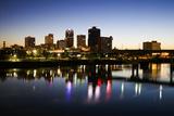 Blue Hour in Little Rock Reproduction photographique par  benkrut