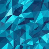 Geometric Triangle Background Kunst von  freshidea