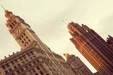 Wrigley Building and Tribune Building Reproduction photographique par  benkrut