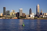Late Afternoon in Downtown Cleveland Reproduction photographique par  benkrut