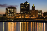 Night in Milwaukee Reproduction photographique par  benkrut