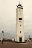Noordwijk Lighthouse Reproduction photographique par  benkrut