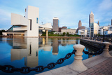 Cleveland Seen Morning Time Reproduction photographique par  benkrut