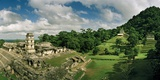 The Palenque Palace Complex with the Observation Tower Clearly Visible Reproduction photographique par Macduff Everton
