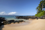 Hawaii, Maui, Makena Beach, a Coastal View of the South Shore Reproduction photographique par  Design Pics Inc