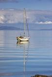 Isle of Colonsay, Scotland; Sailboat on the Ocean Reproduction photographique par  Design Pics Inc