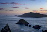 Blasket Islands from Dunmore Head, Dingle, Co. Kerry, Ireland Photographic Print by Chris Hill