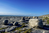 Black Head in the Burren, a Karst Formation in County Clare, Ireland Photographic Print by Chris Hill