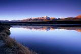 Reflection of Mount Elbert in Crystal Lake Near Leadville, Colorado Fotografisk tryk af Keith Ladzinski