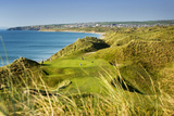 Ballybunnion Old Course in County Kerry, Ireland Reproduction photographique par Chris Hill