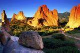 Sunrise at Garden of the Gods, Colorado 写真プリント : Keith Ladzinski