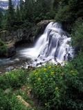 A View of Twin Falls in Yankee Boy Basin, San Juan Mountains, Colorado 写真プリント : Keith Ladzinski