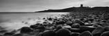 Embleton Bay with Dunstanburgh Castle in Distance, Northumberland,England,Uk Fotografisk tryk af  Design Pics Inc