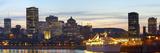 Montreal Skyline at Dusk; Montreal, Quebec, Canada Fotografisk trykk av  Design Pics Inc
