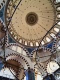 Domed Roof of Rustem Pasa Mosque Reproduction photographique par  Design Pics Inc