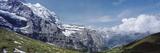 Jungfrau and Lauterbrunnnen Valley Near Grindelwand in Bernese Alps Fotografisk trykk av  Design Pics Inc