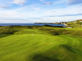 6th Hole Named Harry Colts at Royal Portrush Golf Club in Northern Ireland Fotografisk trykk av Chris Hill