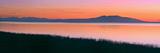 Sunset over Mount Susitna *Sleeping Lady* across Knik Arm Southcentral Alaska Summer Reproduction photographique par  Design Pics Inc