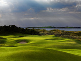 13th Hole Named Skerries at Royal Portrush Golf Club in Northern Ireland Reproduction photographique par Chris Hill