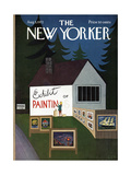 The New Yorker Cover - August 5, 1972 Premium Giclee Print by Charles E. Martin