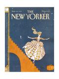 The New Yorker Cover - September 28, 1992 Premium Giclee-trykk av Victoria Roberts