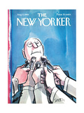 The New Yorker Cover - August 17, 1968 Giclee Print by Charles Saxon