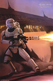 Star Wars The Force Awakens - Fire Posters