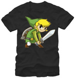 Zelda- Big Link T-Shirt