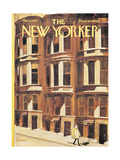 The New Yorker Cover - March 6, 1971 Giclee Print by Charles Saxon