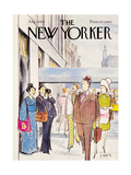 The New Yorker Cover - August 5, 1974 Giclee Print by Charles Saxon