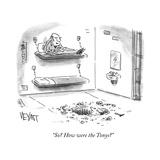 """So How were the Tonys"" - Cartoon Reproduction giclée Premium par Christopher Weyant"