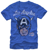Los Angeles Clippers- Captain America T-Shirt