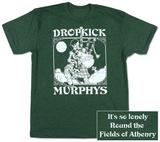 Dropkick Murphys- Vintage Skeleton Piper T-Shirts