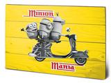Minions - Minion Mania Yellow Wood Sign
