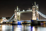 London Tower Bridge across the River Thames Lámina fotográfica por Mohana AntonMeryl