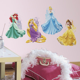 Disney Princesses & Castles Vinilo decorativo