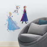Disney Frozen Anna Elsa and Olaf Autocollant mural