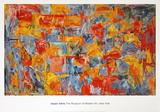 Map (sm) Kunst av Jasper Johns