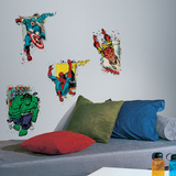Marvel Superhero Burst Wall Decal