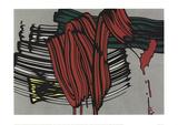 Big Painting 6 Zeefdruk van Roy Lichtenstein