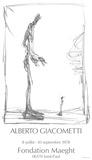 Dessin I Samlertryk af Alberto Giacometti