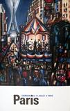 Le 14 Juillet a Paris Samlertryk af Marcel Gromaire