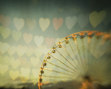 Fairground Hearts Prints by Irene Suchocki