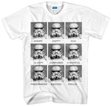 Star Wars- Stormtrooper Today I Am T-Shirts