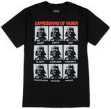 Star Wars- Vader Expressions T-Shirts