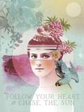 Follow Your Heart Láminas por Anahata Katkin