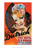 Vintage Movie Poster - The Devil is a Woman Poster