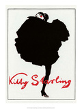 Vintage Poster Advertising Kitty Starling Art