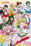 Sailor Moon Team Posters